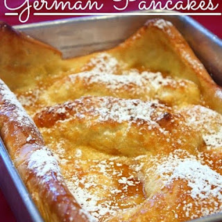 German Pancakes.