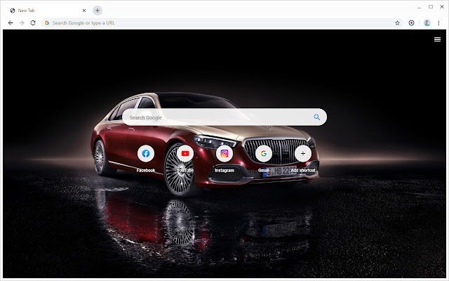 Mercedes-Maybach Wallpapers New Tab