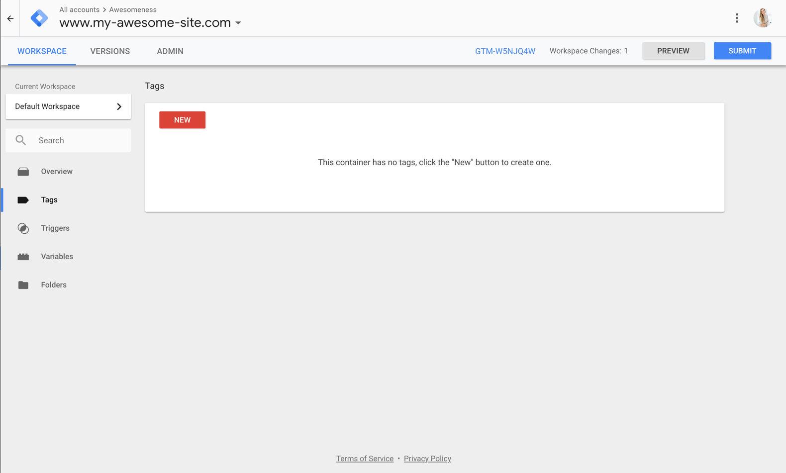 Google Tag Manager Tag Setup