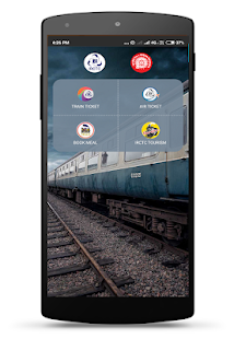 IRCTC Rail Connect Screenshot