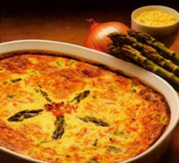 Asparagus-ham Custard Recipe