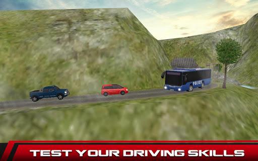Cops Bus Driver: Crazy 3D Sim