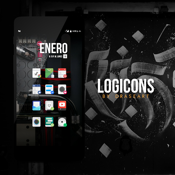 Logicons iconpack // Beta v0.0.8