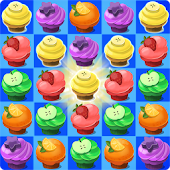 Tải Crazy Cupcake Match 3 miễn phí
