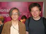 Photo: Hideki Kato (me) & Lukasz Lew (author of libEGO)
