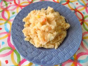 Easter Bunny Mashed Potatoes