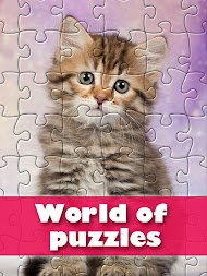 World of puzzles - best classic jigsaw puzzles APK screenshot thumbnail 5