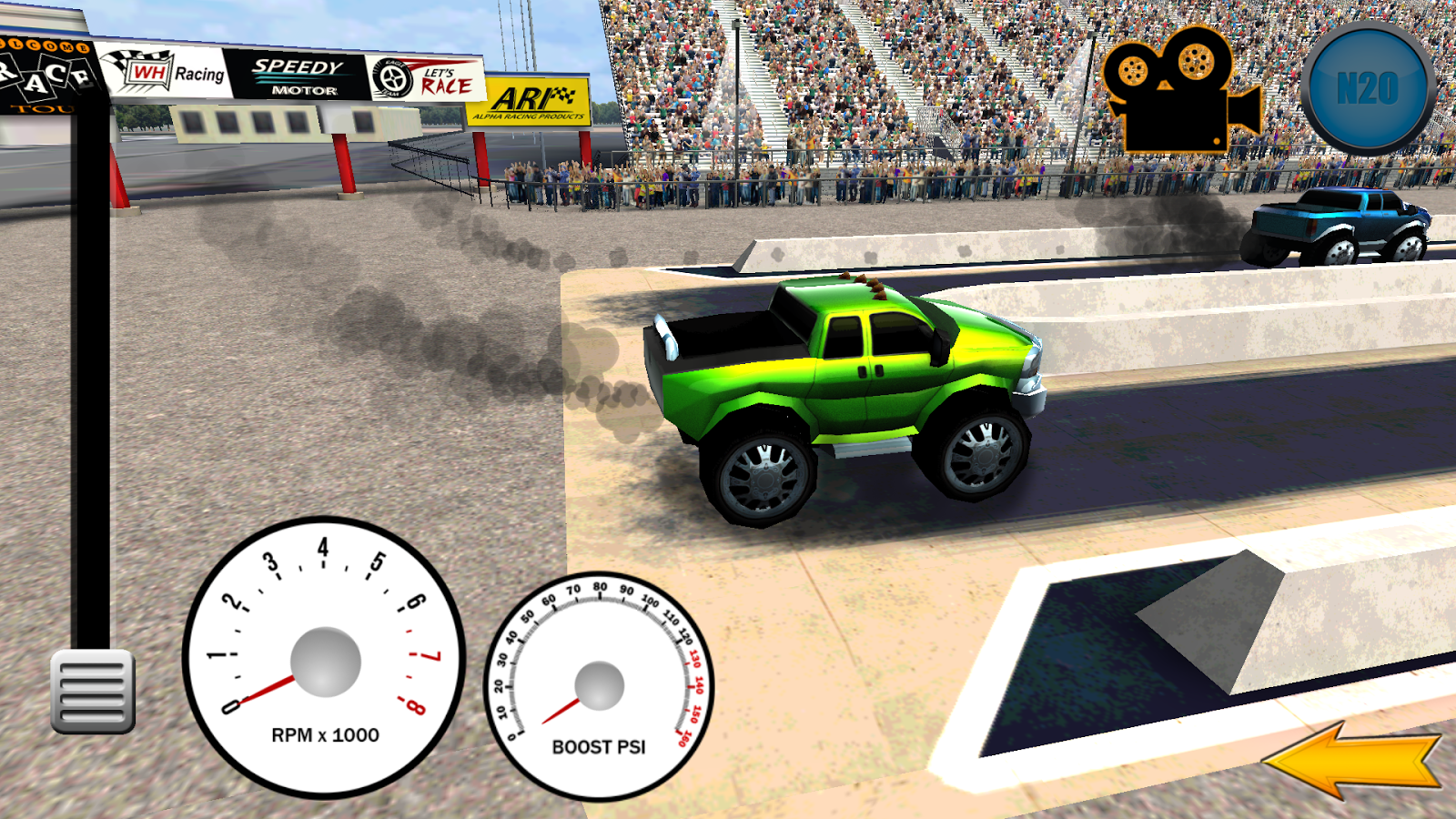 Diesel Drag Racing- screenshot