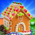 Gingerbread House Cake Maker! DIY Cooking Game