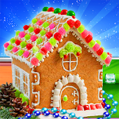 Gingerbread House Cake Maker! DIY Cooking Game