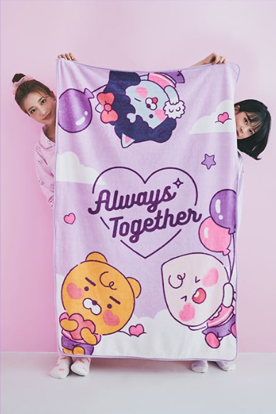 TWICE-Kakao-Friends-Blanket