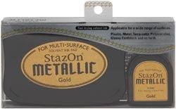 Stazon Metallic Ink Kit - Gold