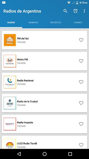 radios de argentina screenshot 2
