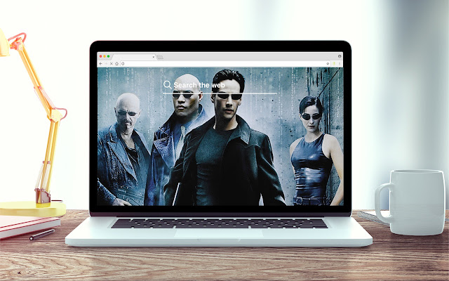 The Matrix New Tab Movie Theme