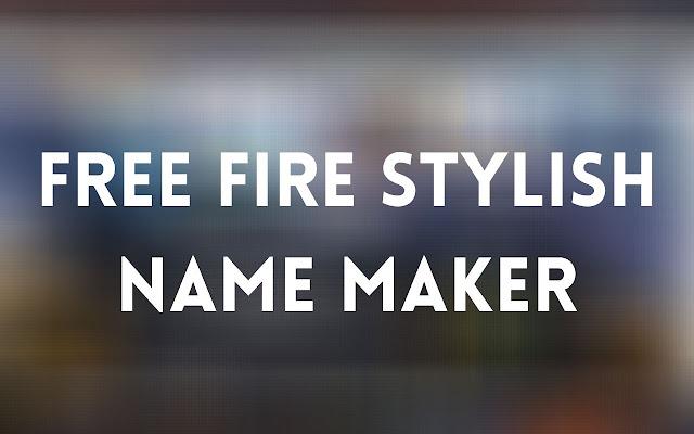 Free Fire Stylish Name Maker