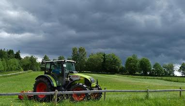 Photo: Noch schnell vor dem großen Regen...