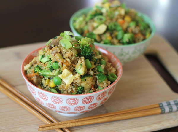 Quinoa 'fried Rice' Recipe