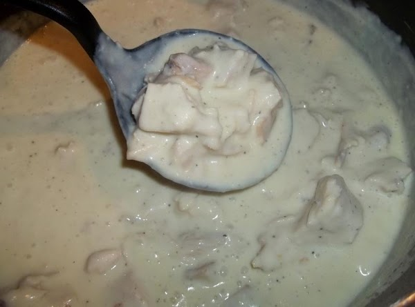 Serve over biscuits. This would also be great ladled over mashed potatoes...enjoy!!