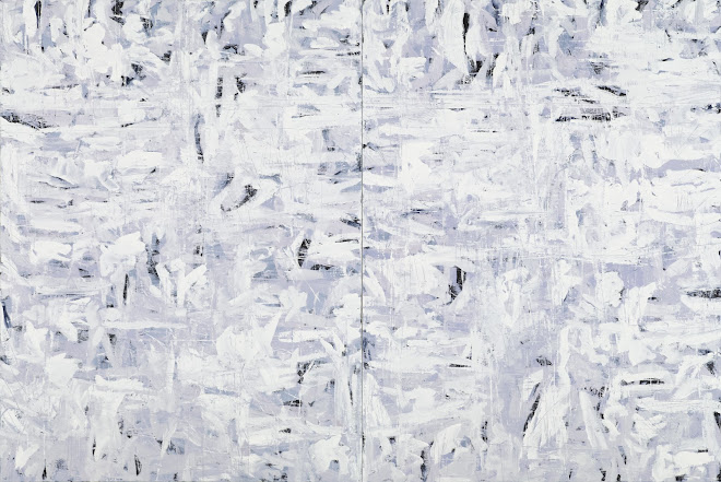 <p> <strong>Grey Lake III</strong><br /> Oil on linen<br /> 48&rdquo; x 72&rdquo; diptych<br /> 2021</p>