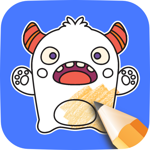 Monster Coloring Game