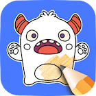 Doodle Coloring Game icon