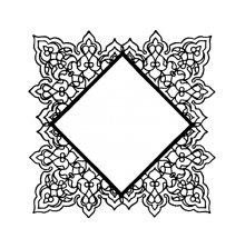 Wendy Vecchi Background Stamp - Square Doily