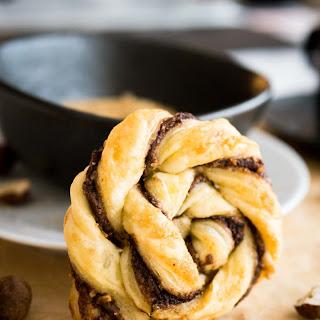 Easy Twisted Nutella Danish.