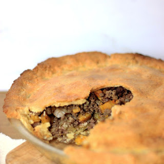Paleo Low Carb French Canadian Tourtière (Meat Pie)