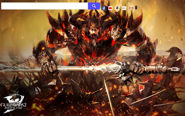 Guild Wars 2 Game HD Wallpapers New Tab