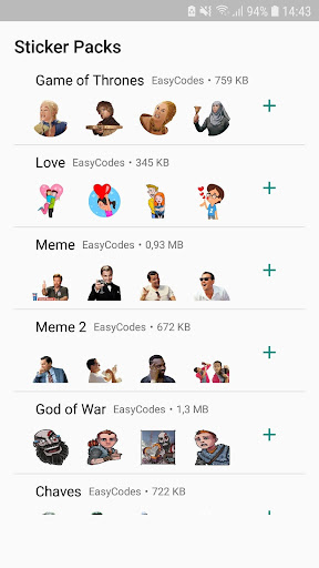 WAStickerApps - Stickers for WhatsApp 1.0.13 screenshots 4