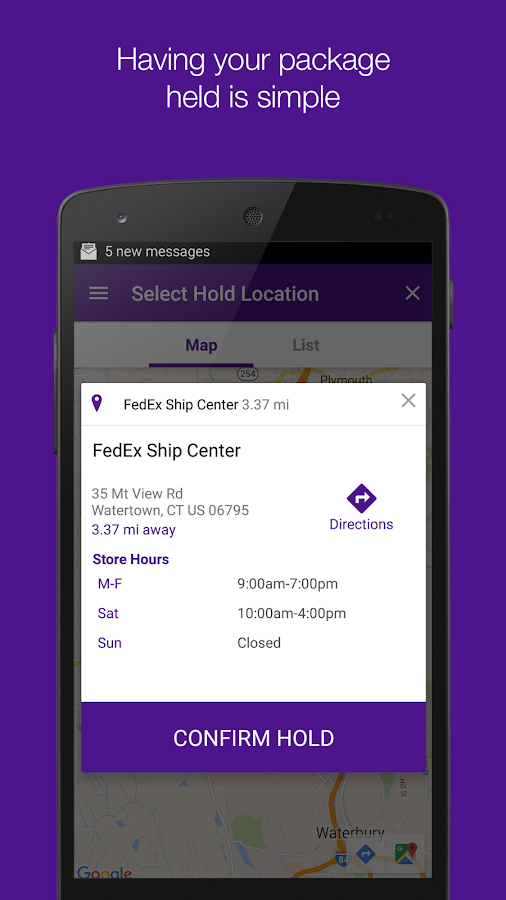 FedEx- screenshot