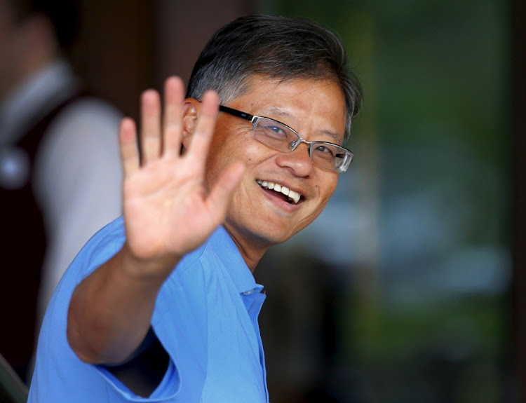 Jerry Yang, co-founder and former CEO of Yahoo arrives for the annual Allen and Co media conference Sun Valley, Idaho July 7 2015. Picture: REUTERS/MIKE BLAKE