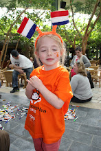 Photo: May 2013: Final Queens Day at vacation park Centerparcs Meerdal in America (NL)