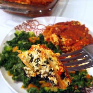 Skinny Vegan Lasagna.