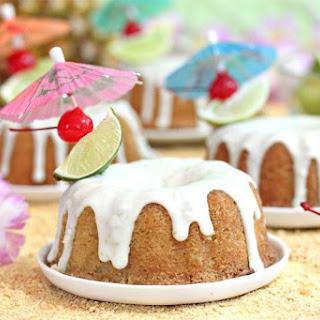 Mai Tai Bundt Cakes Recipe