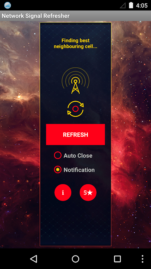 Network Signal Refresher Pro- screenshot