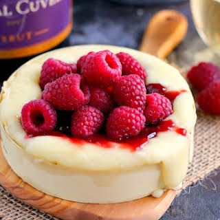 Raspberry Baked Brie.