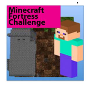 Minecraft Fortress Challenge Badge