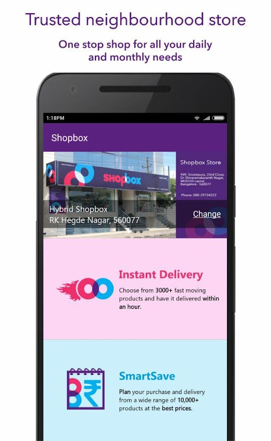 Shopbox- screenshot