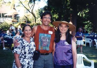Photo: Tina Kirk with Tom Ingram and Vivian Darst