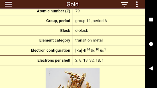screenshot image - Periodic Table Apk Free Download