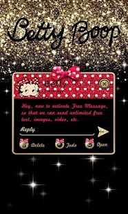 (FREE) GO SMS BETTY BOOP THEME- screenshot thumbnail