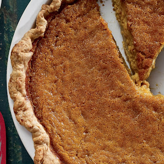 Creamy Pumpkin Pie with Hazelnut Crust