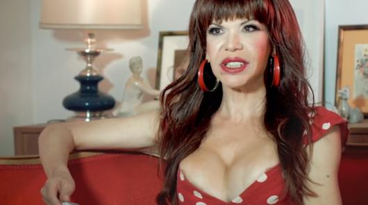 La abderitana Cristina Ortiz, primer rostro trans de la televisión