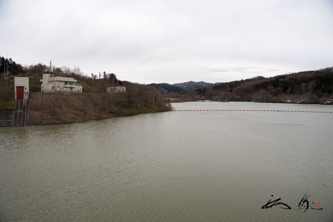 栗山町の水を潤す栗山ダム