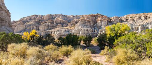 Photo: Plaza Blanca, Abiquiu, New Mexico