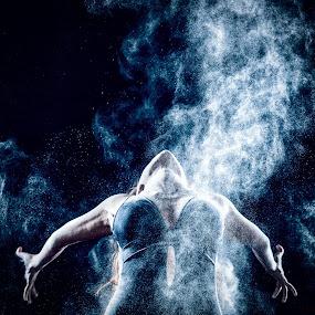 by CEBImagery .com - People Body Art/Tattoos ( modern, arizona, powder, ballet, dance )