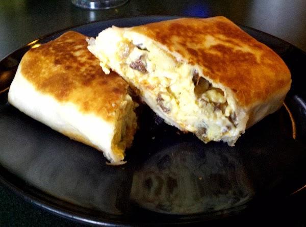 My Man's Breakfast Burrito Recipe