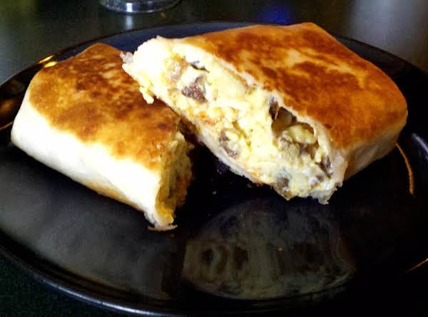 My Man's Breakfast Burrito