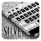Silver Keyboard by Cool Theme Studio icon